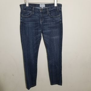 Current Elliott Skinny Jeans 26 Dark Blue Wash